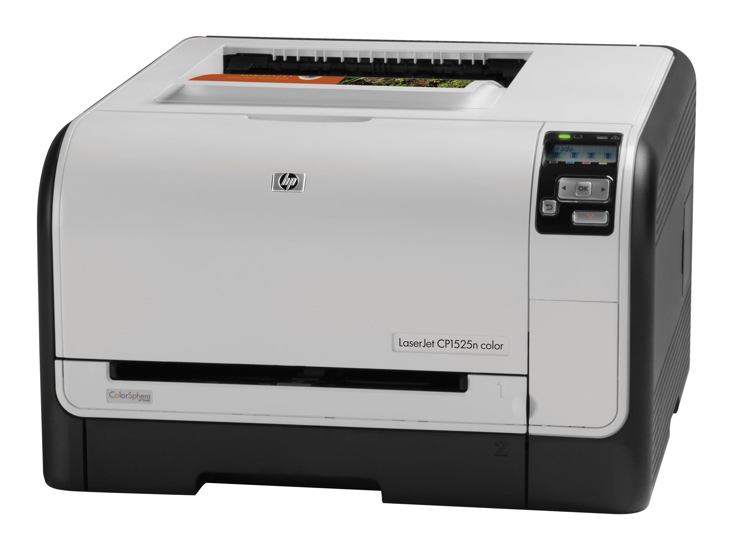 HP Color LaserJet Pro CP1525n - Imprimante laser reconditionnée couleur A4