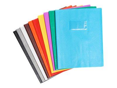 Calligraphe - Protège cahier sans rabat - 17 x 22 cm - grain cuir - vert