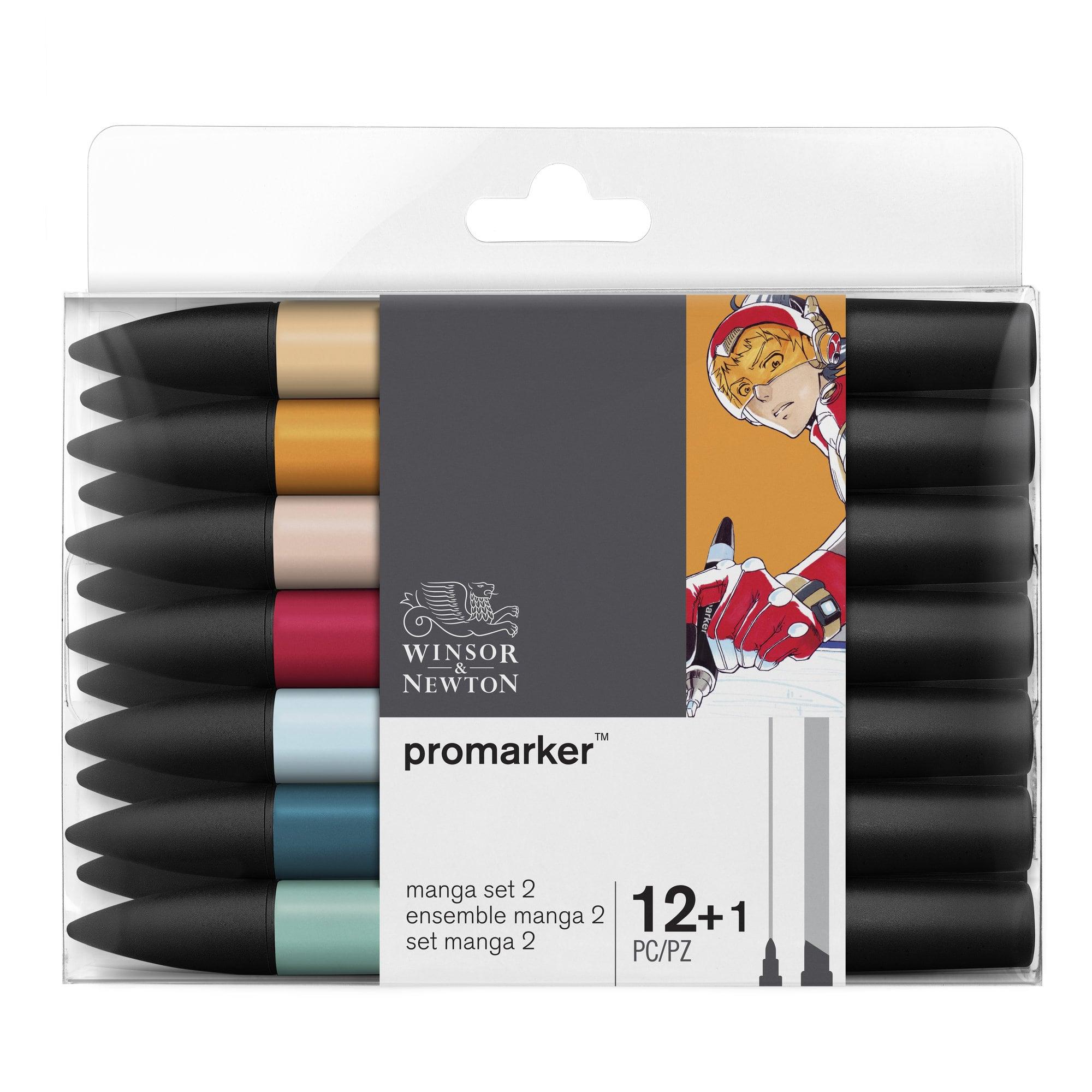 ProMarker - Pack de 13 marqueurs double pointe - manga expansion pack 2