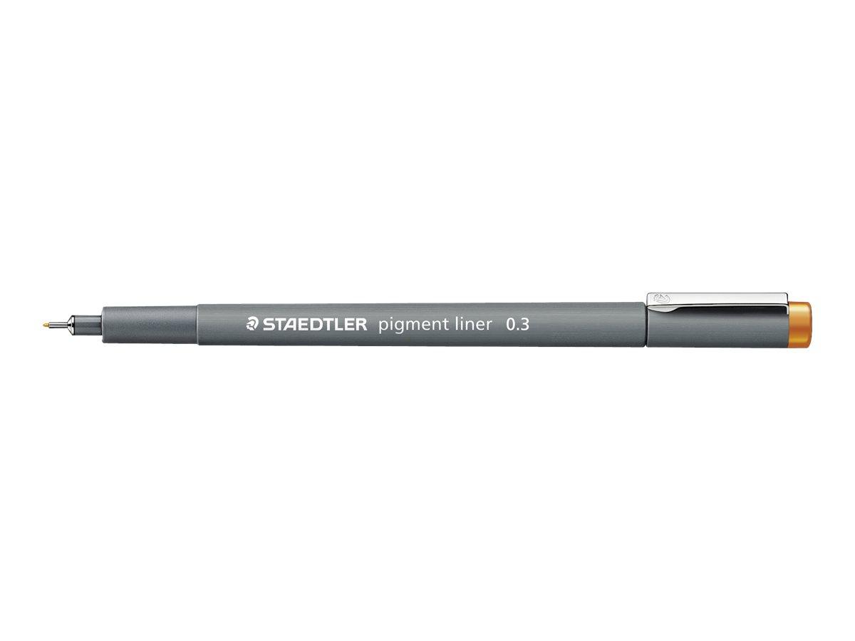 STAEDTLER pigment liner - Feutre fin - 0.3 mm - orange