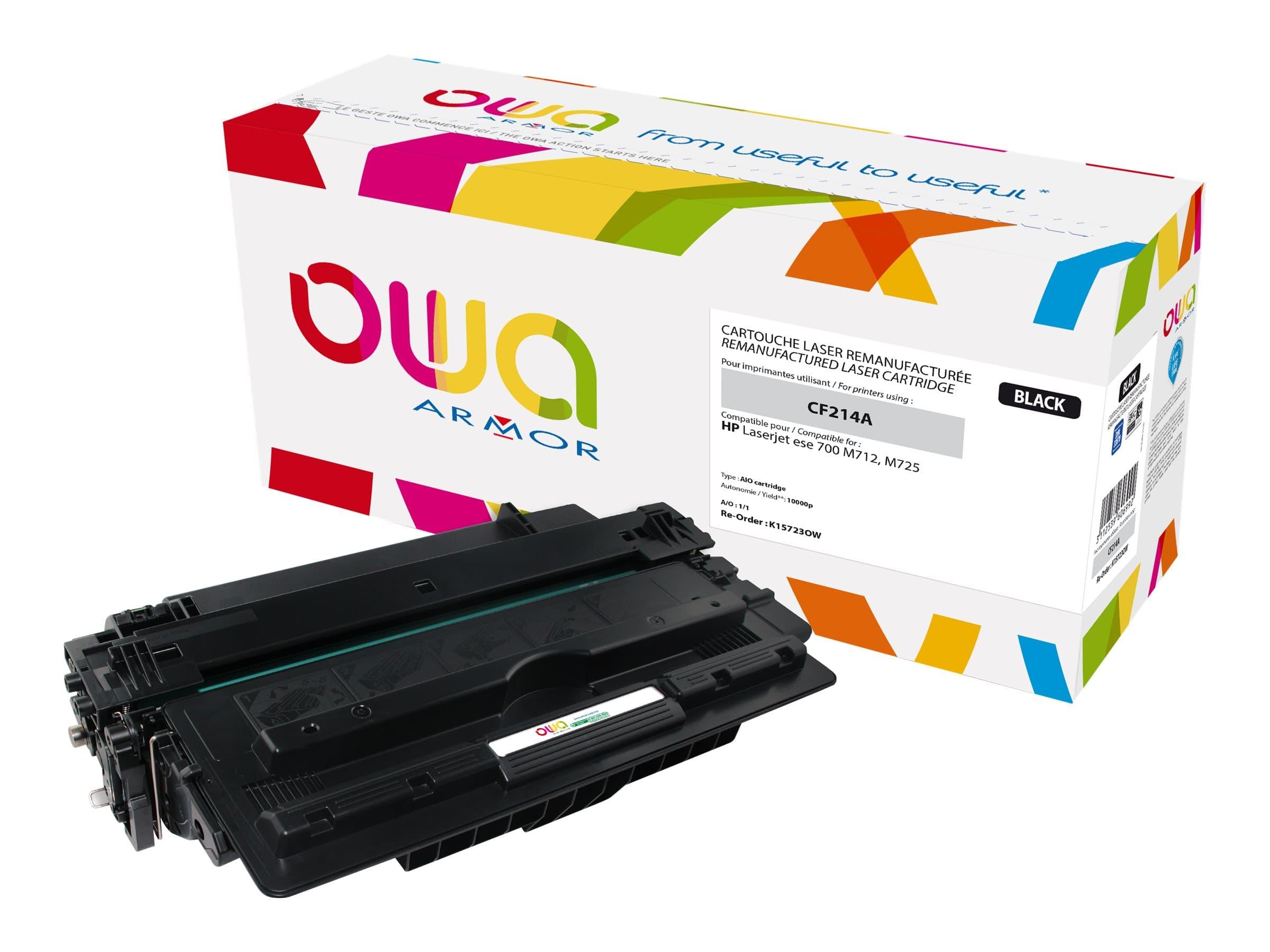 HP 14A - remanufacturé Owa K15723OW - noir - cartouche laser