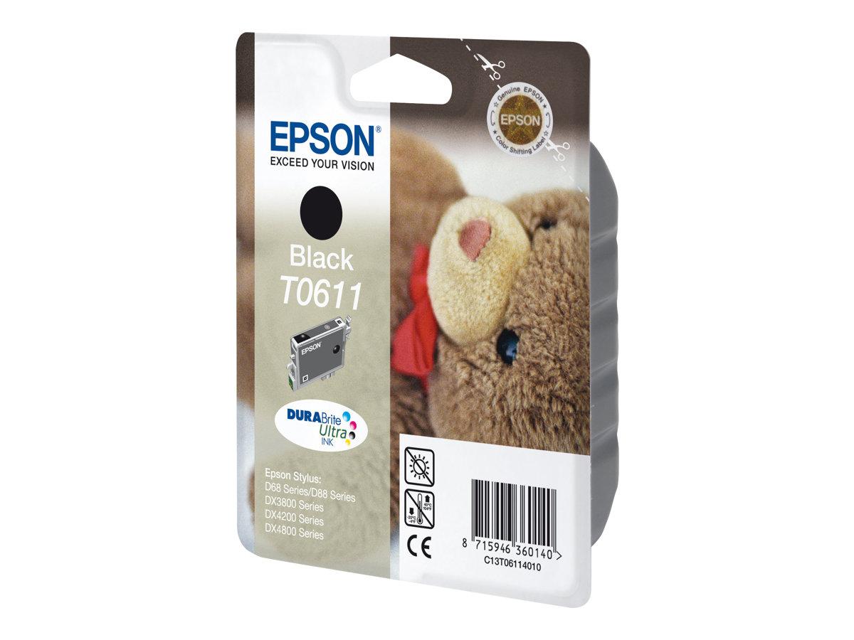 Epson T0611 Ourson - noir - cartouche d'encre originale