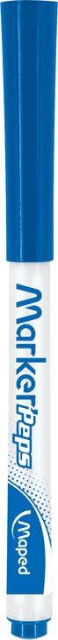 Maped Marker'Peps - Marqueur effaçable - pointe fine - bleu