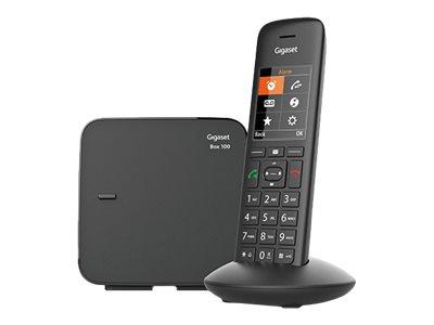 Gigaset C570 - téléphone sans fil - noir