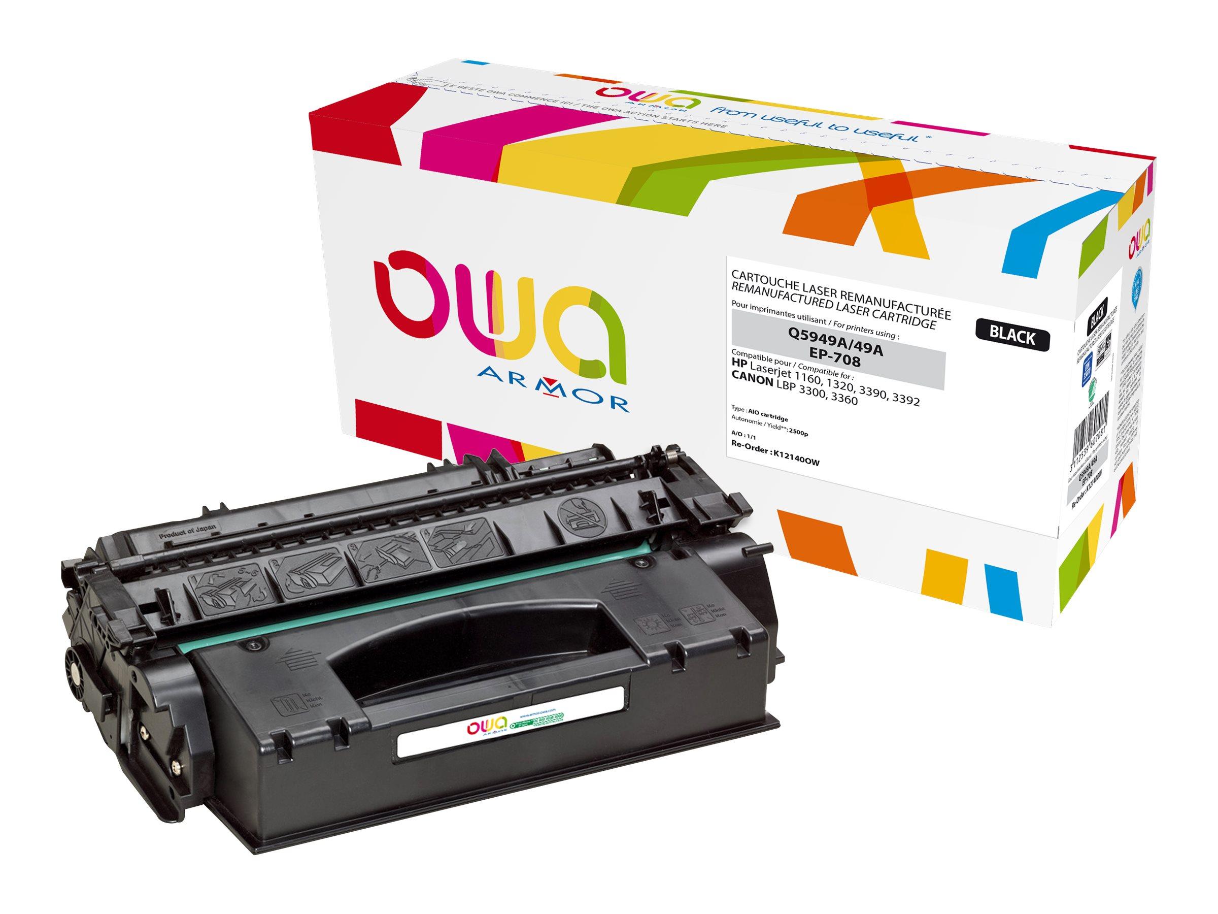 HP 49A - remanufacturé Owa K12140OW - noir - cartouche laser