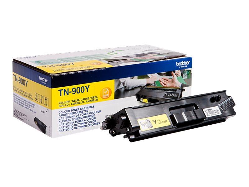 Brother TN900 - jaune - cartouche laser d'origine