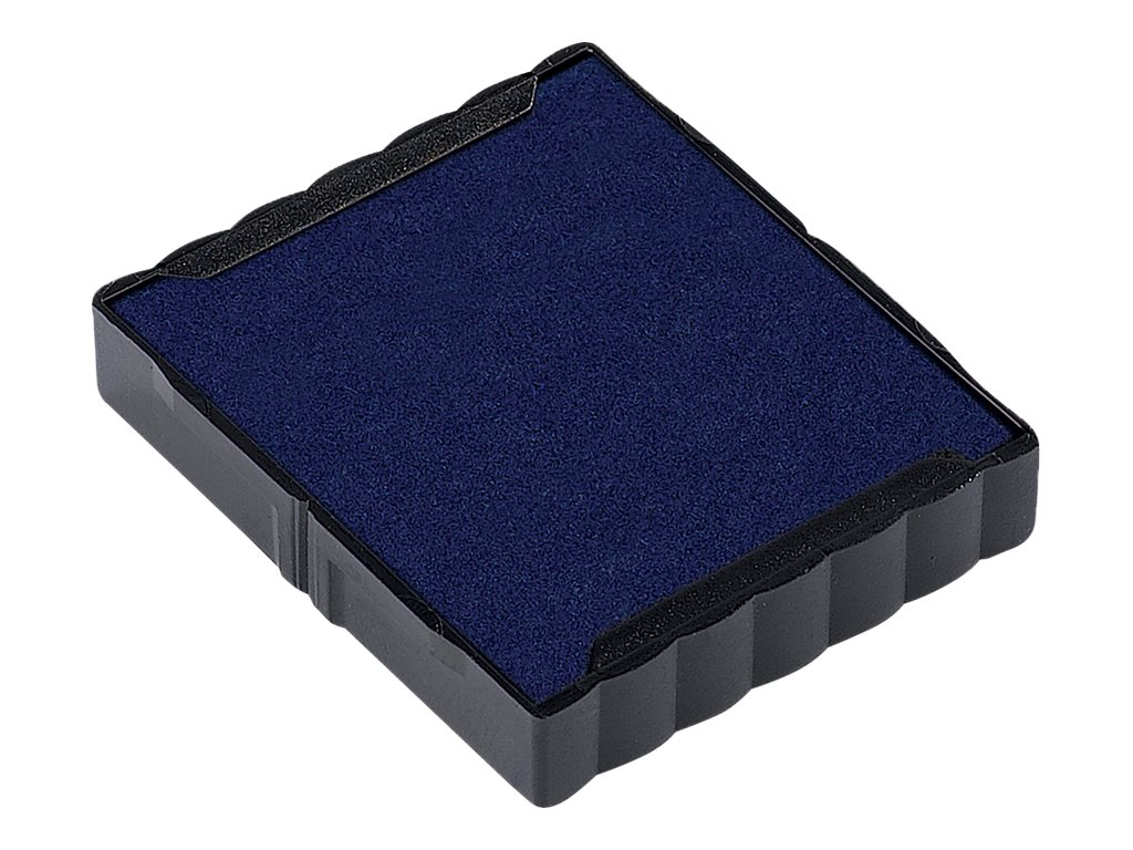 Trodat - 3 Encriers 6/4923 recharges pour tampon Printy 4923/4930 - bleu