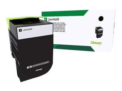Lexmark 802S - noir - cartouche laser d'origine