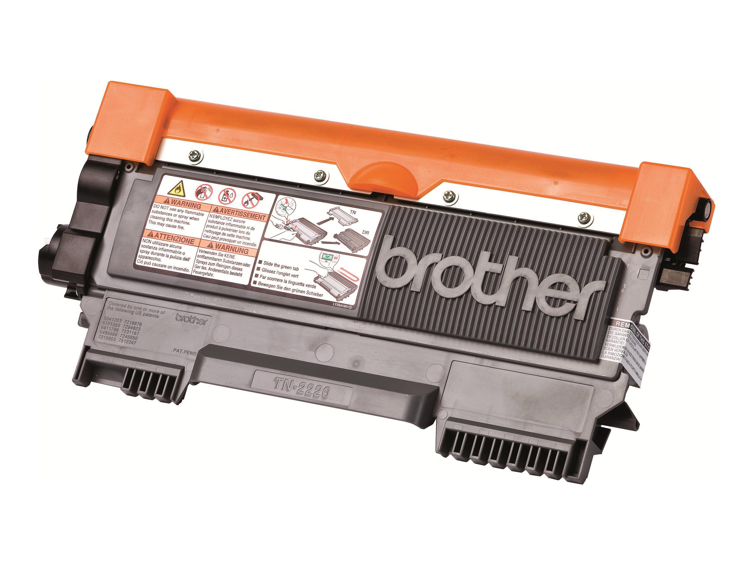 Brother TN2210 - noir - cartouche laser d'origine