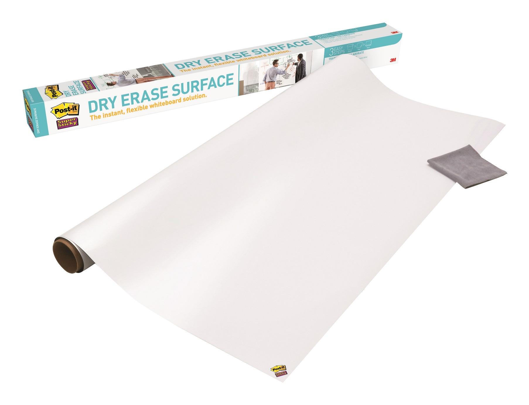 Post it - Tableau blanc Super Sticky - rouleau - 61 x 91 cm