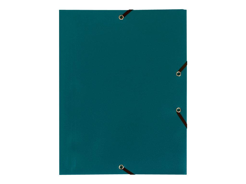 Exacompta - Chemise polypro à rabats - A4 - pour 150 feuilles - vert