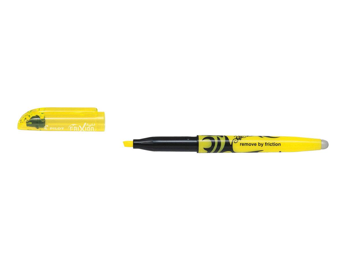 Pilot Frixion Light - Surligneur effaçable - jaune