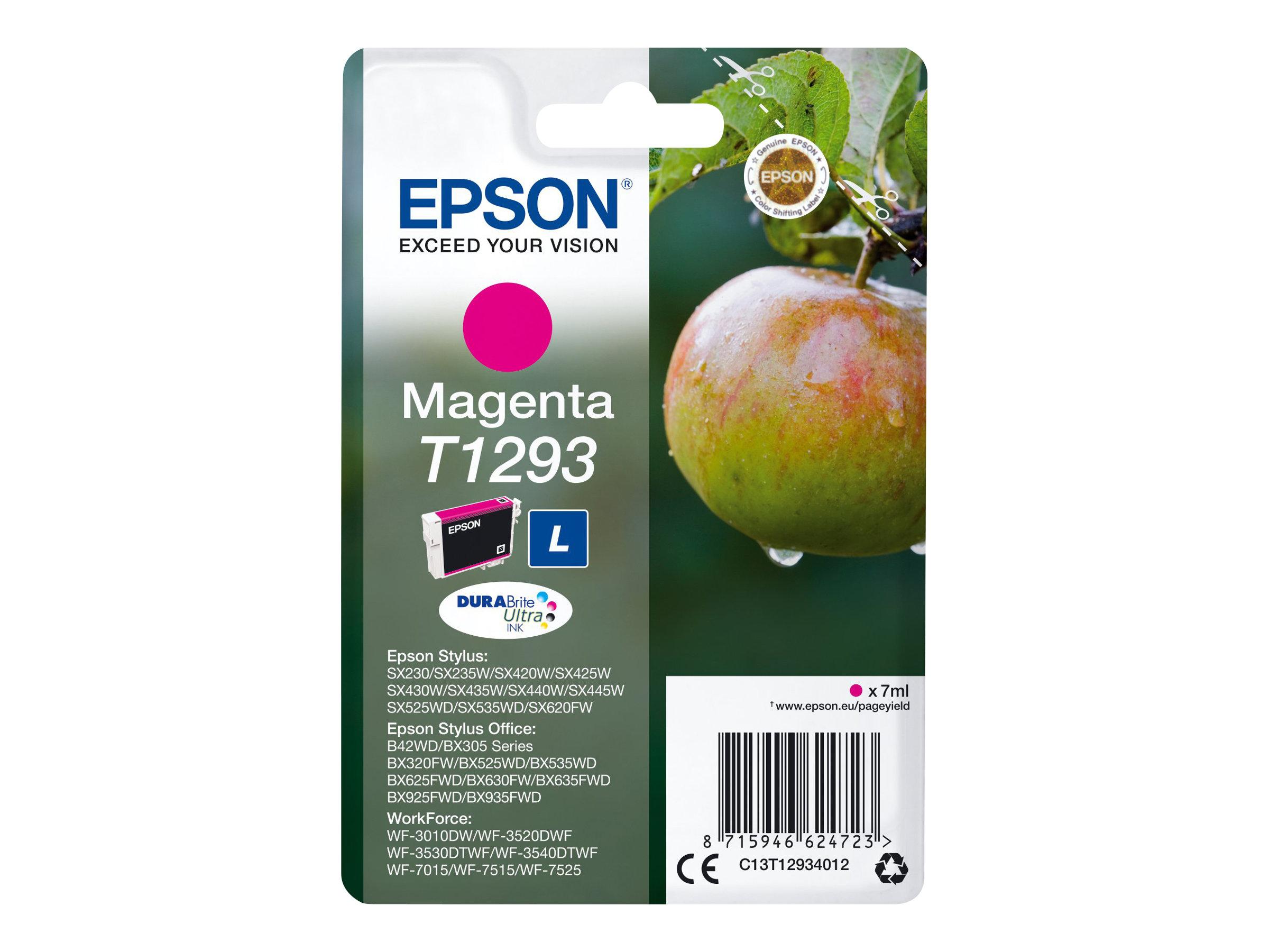 Epson T1293 Pomme - magenta - cartouche d'encre originale