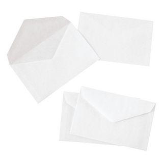 La Couronne - 1000 Enveloppes recyclées élection - 90 x 140 mm - 70 gr - blanc