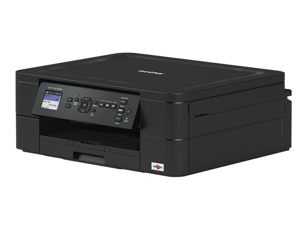 Brother DCP-J572DW - imprimante multifonctions jet d'encre couleur A4 - Wifi, USB - recto-verso