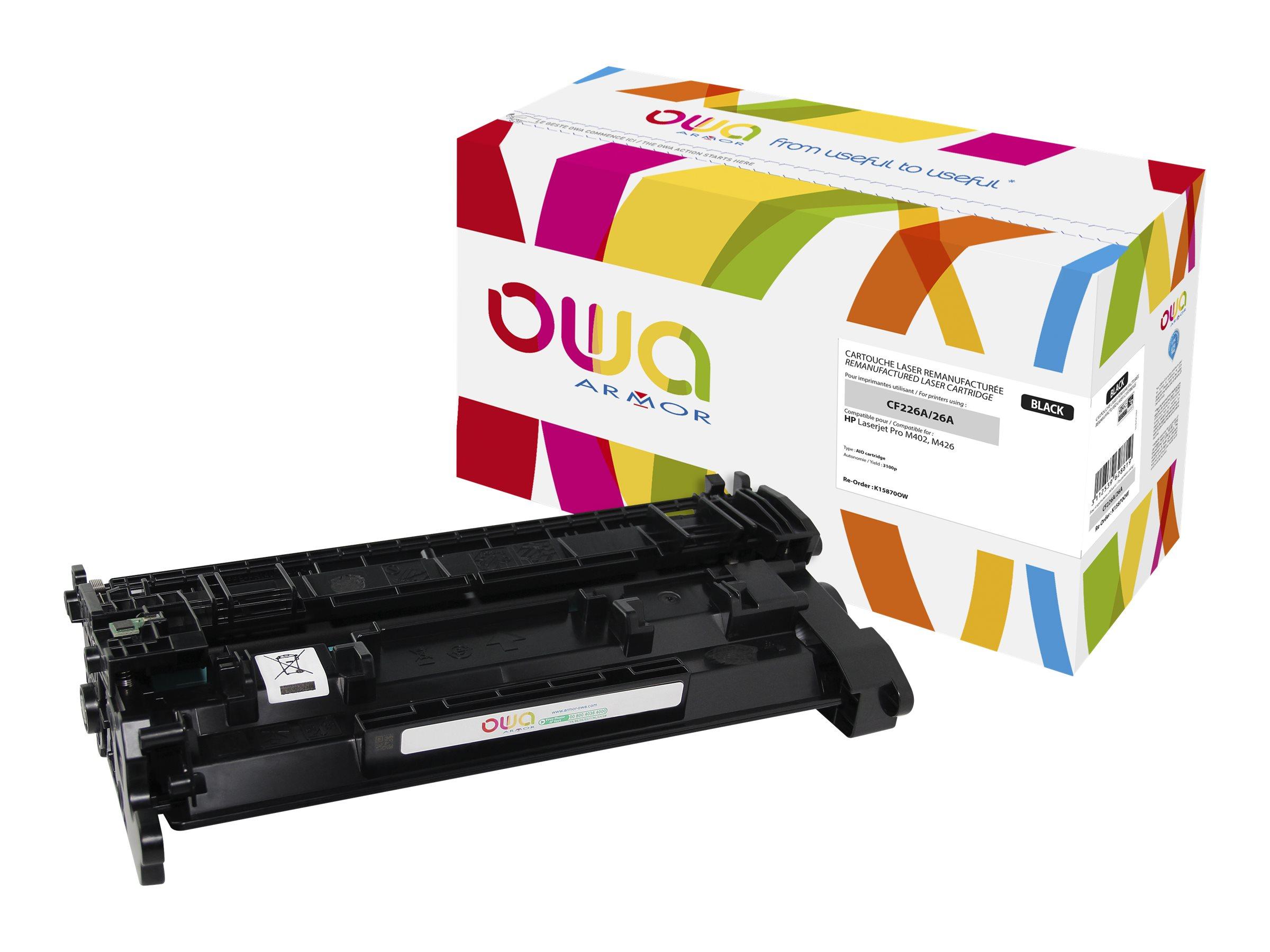 HP 26A - remanufacturé Owa K15870OW - noir - cartouche laser