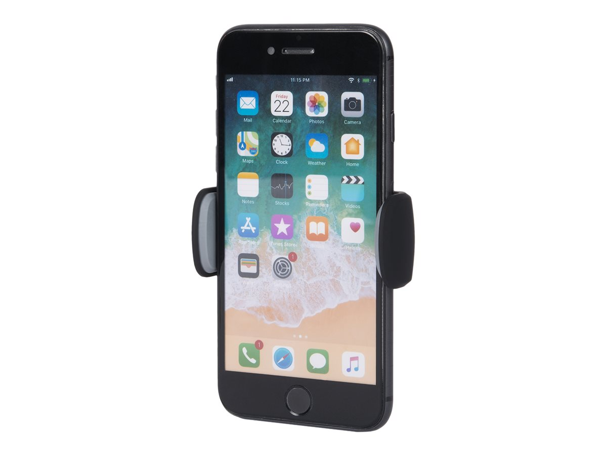 Bigben - support de voiture pour smartphone avec fixation par clip sur grille aération