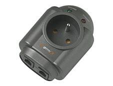 INFOSEC S1 LAN - Prise parafoudre - parasurtenseur