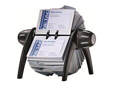 Durable Visifix Vega - Fichier rotatif de cartes de visite avec répertoire alphabétique