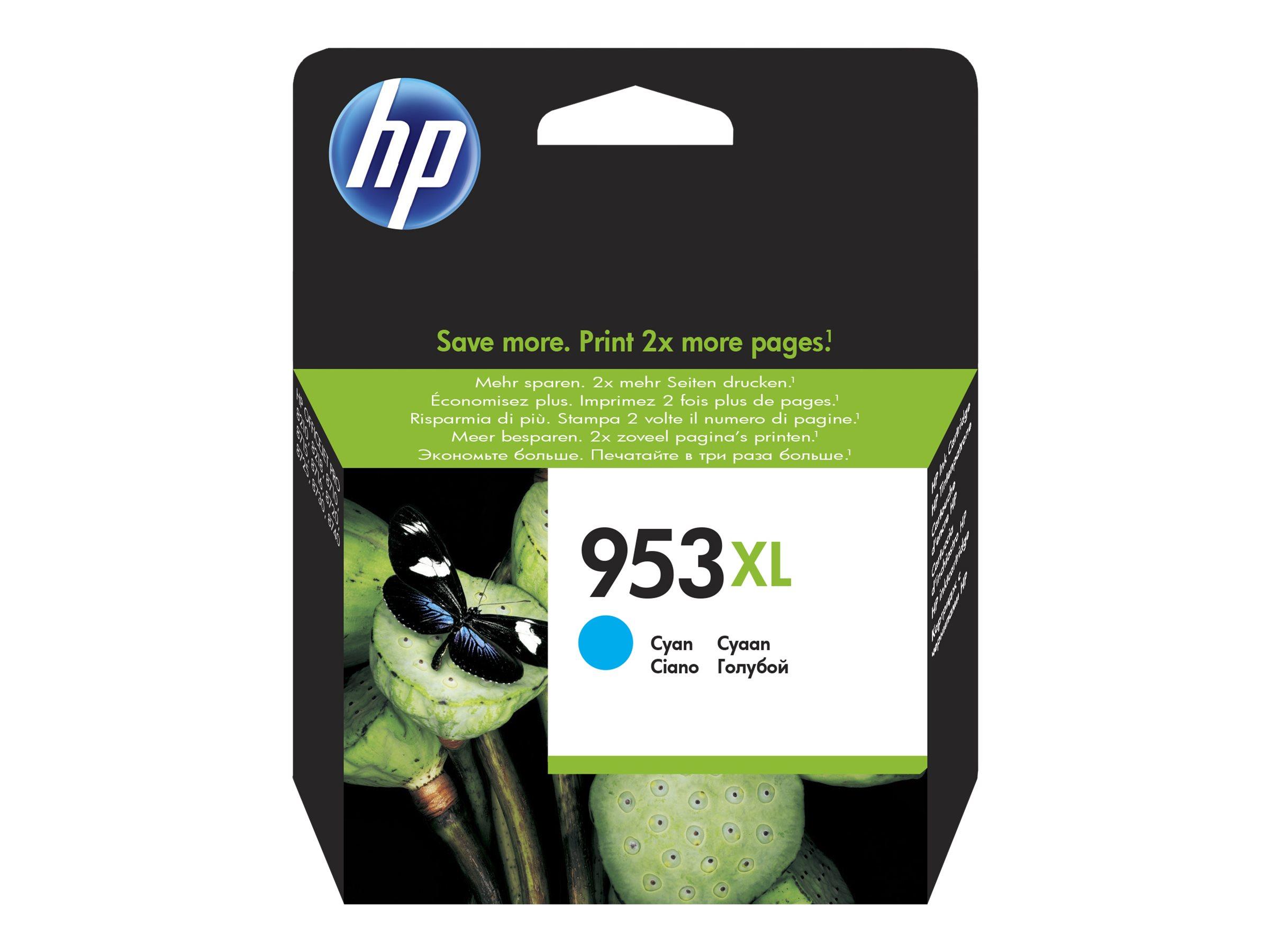 HP 953XL - cyan - cartouche d'encre originale