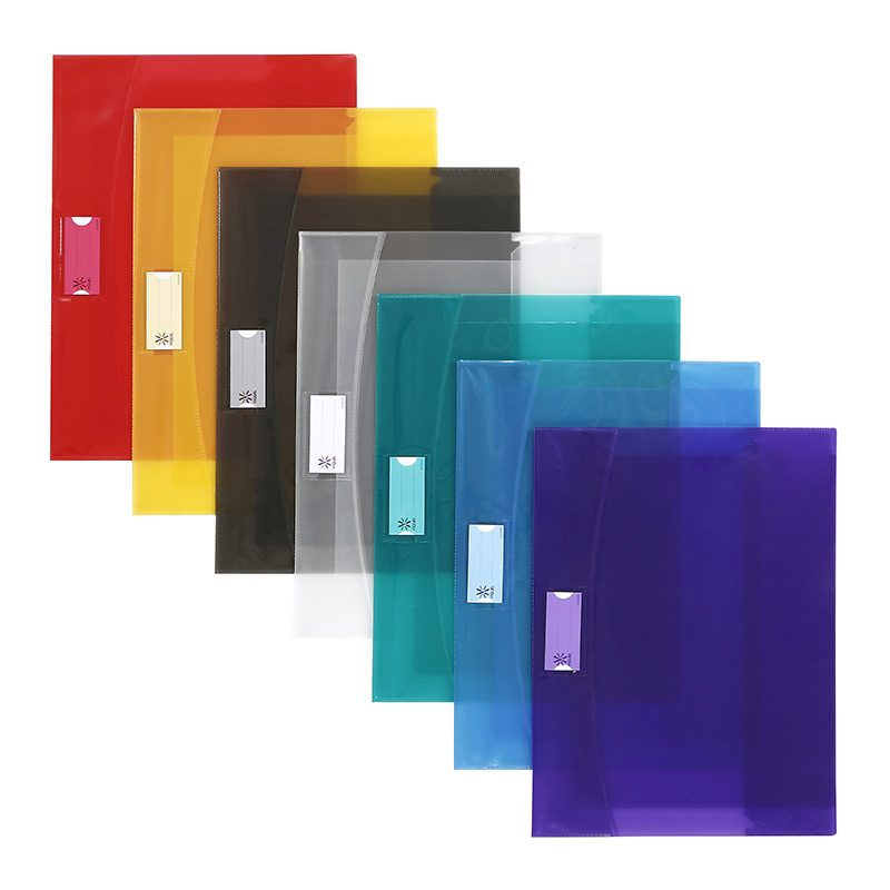 Viquel Strong - Protège cahier avec rabats - A4 (21x29,7 cm) - jaune