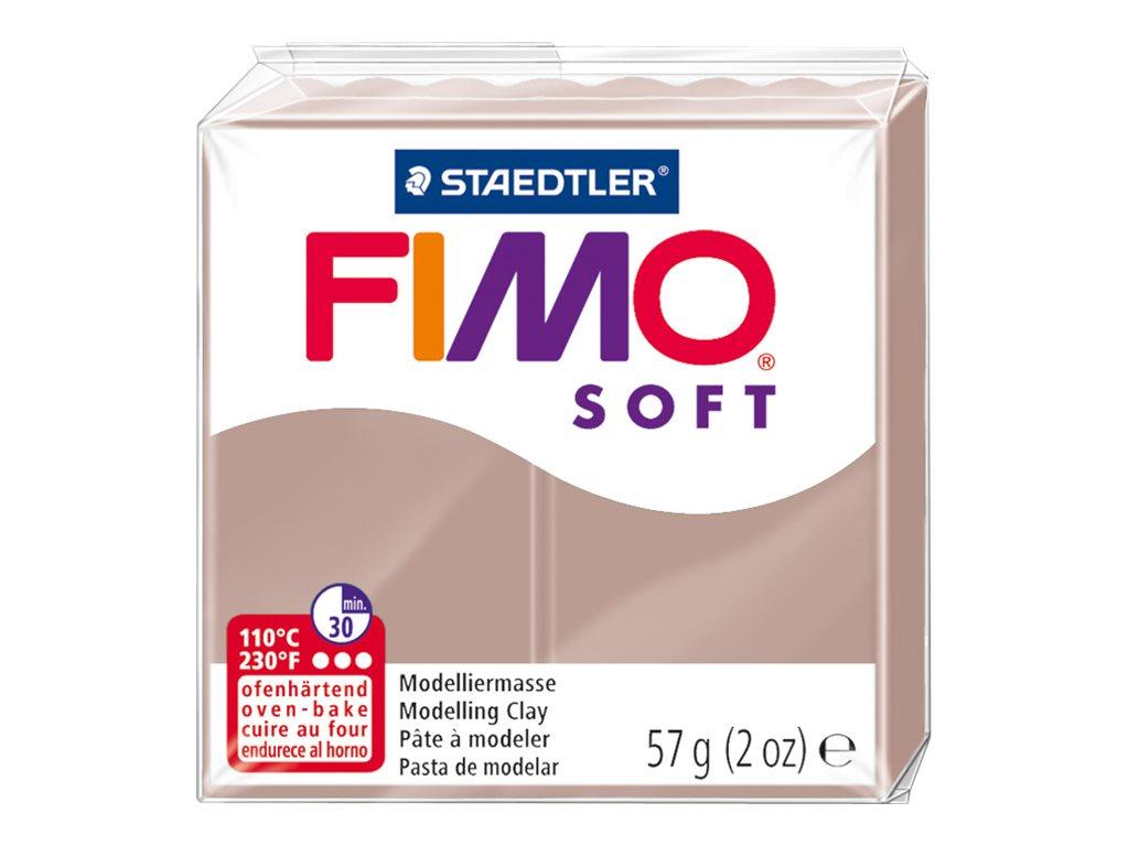 Pâte Fimo Soft -  taupe - 57G