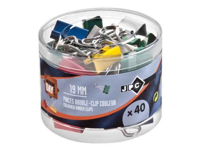JPC - 40 pinces double clip - repliables