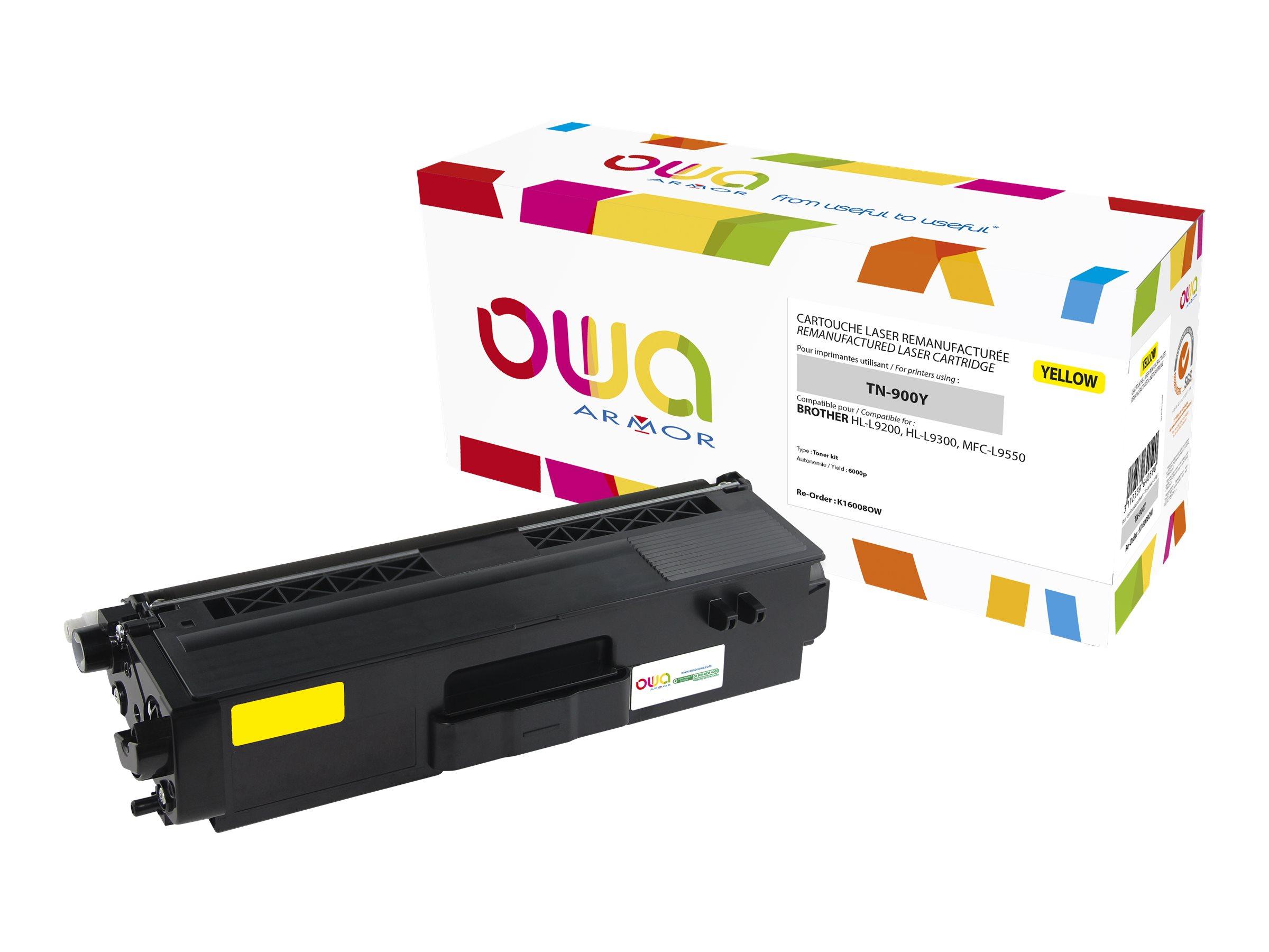 Brother TN900 - remanufacturé Owa K16008OW - jaune - cartouche laser